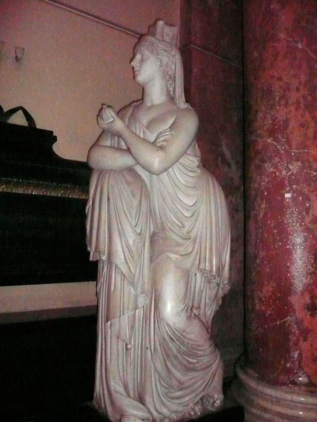 Пам'ятник Францу фон Гауеру в Домініканському костелі у Львові