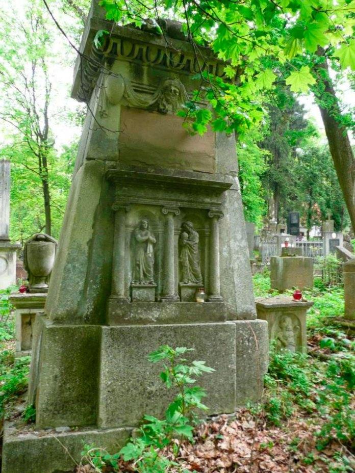 Пам'ятник на могилі Йоганна Гауснера-сина (Личаківський цвинтар)