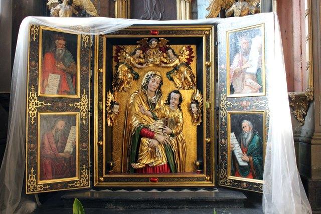 Образ Матері Божої Утішительки гарнізонного храму святих апостолів Петра та Павла