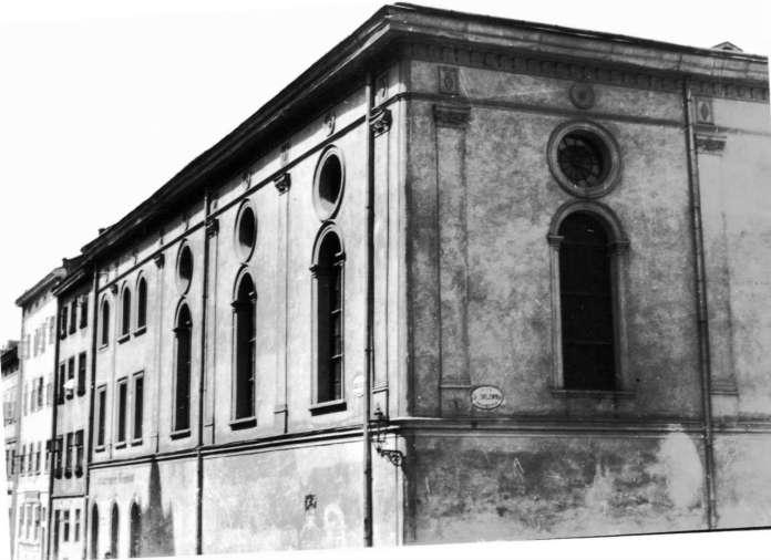 Фрагмент Великої міської синагоги. Фото поч. XX ст.