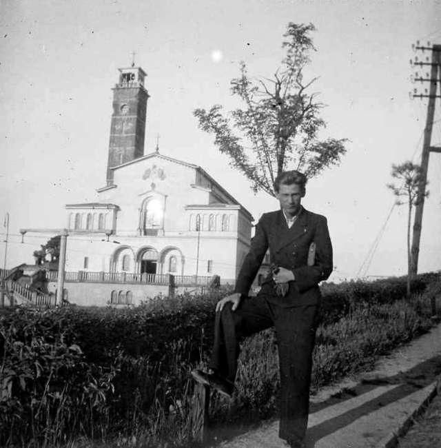 Вид на храм з вул. Личаківська, 1939 рік