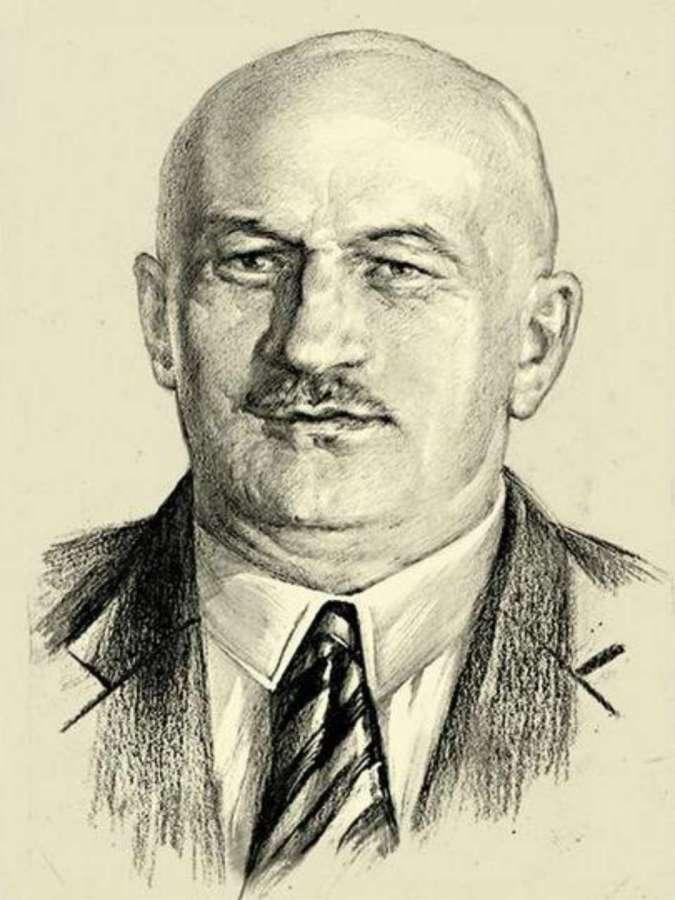 Професор Вітольд Мінкевич ( 1880 - 1961 рр. ), архітектор Лабораторії машин НУ ЛП у Львові