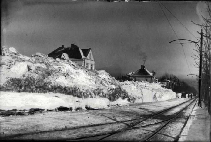 Вул. 29 Листопада ( нин. Коновальця ). фото 1932 року