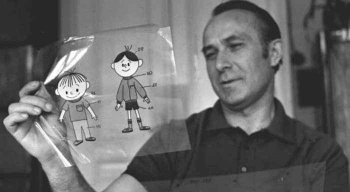 Владіслав Негребецький - режисер-аніматор, його сини Ян і Роман стали прототипами Льоліка і Боліка