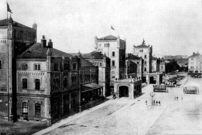 Львівський вокзал, фото, 1894-1903 роки