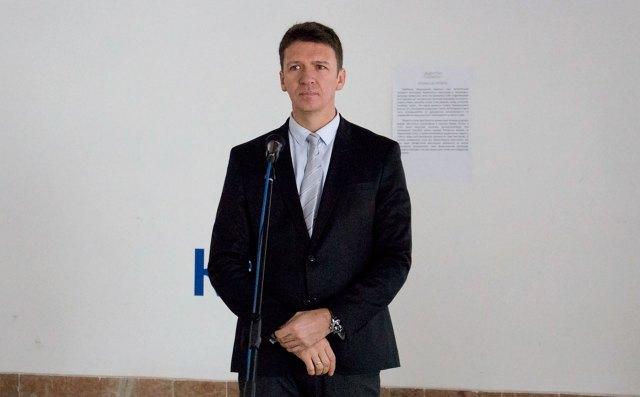 Директор Львівського Палацу Мистецтв Юрій Гнатковський