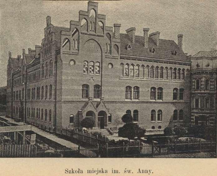 Міська школа Св. Анни. Фото 1894 року
