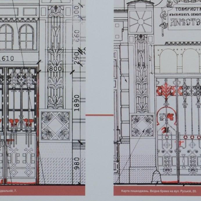 Брами доповнюють загальний стиль споруди
