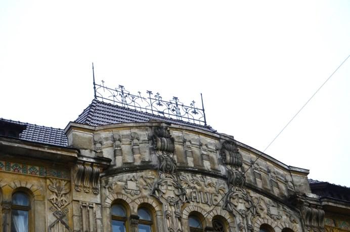 Металеві решітки даху
