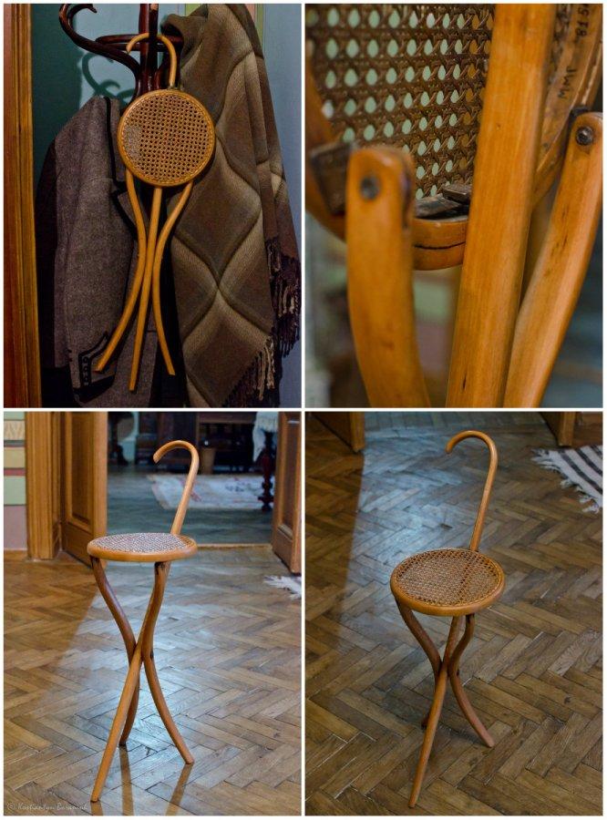 Ляска-стілець Михайла Грушевського, музей Михайла Грушевського у Львові.