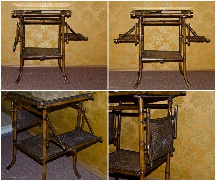 Столик-трансформер у музеї Соломії Крушельницької.