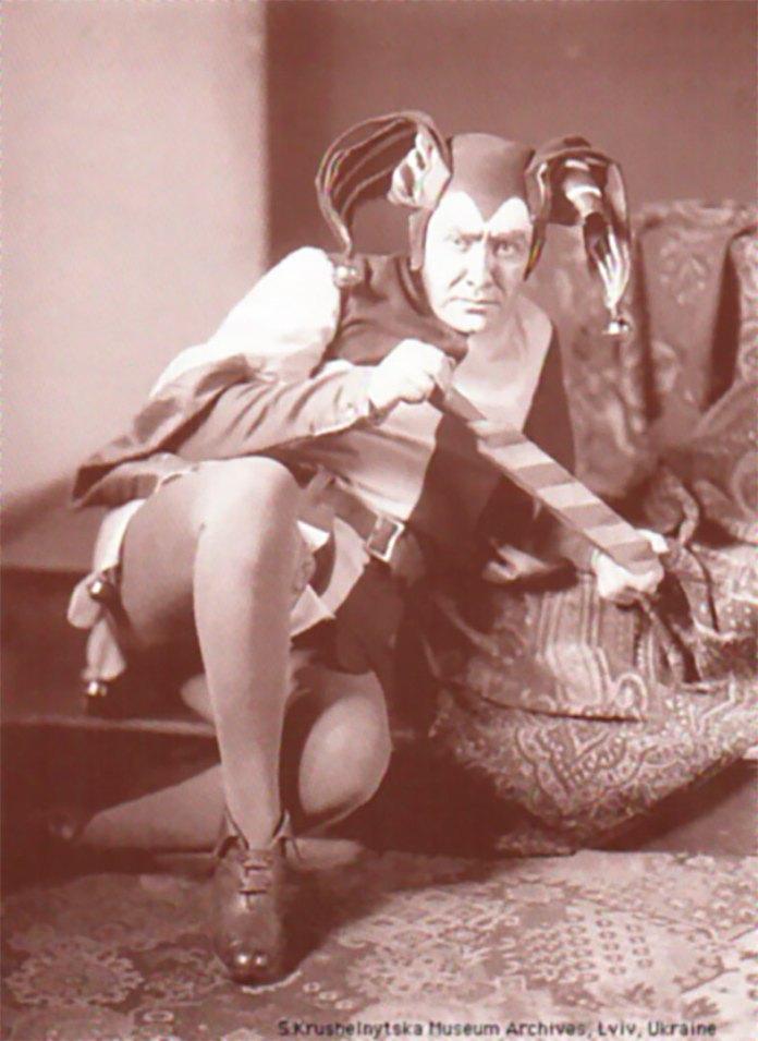 Модест Менцинський в опері «Відмічені» Франца Шрекера