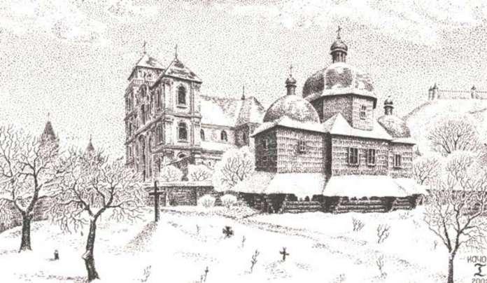 Богоявленська церква Галицького передмістя Львова. Реконструкція І. Качора