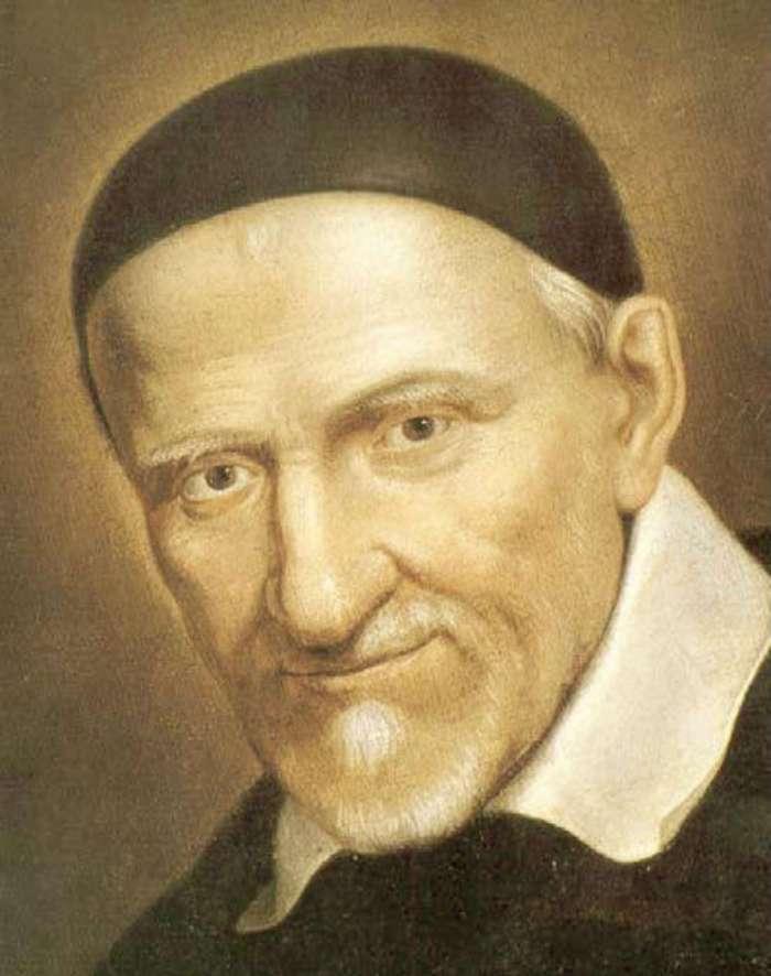 Святий Вінсент де Поль, патрон закладу на Театинській