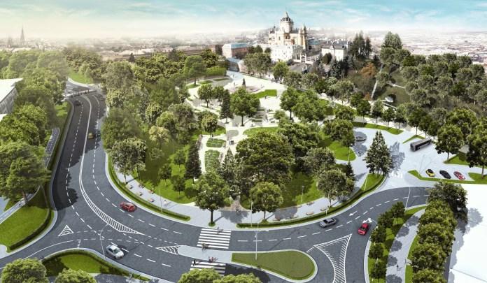 Проект реконструкції площі святого Юра