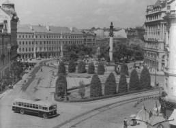 Площа Міцкевича, фото, 1952-1967 роки.