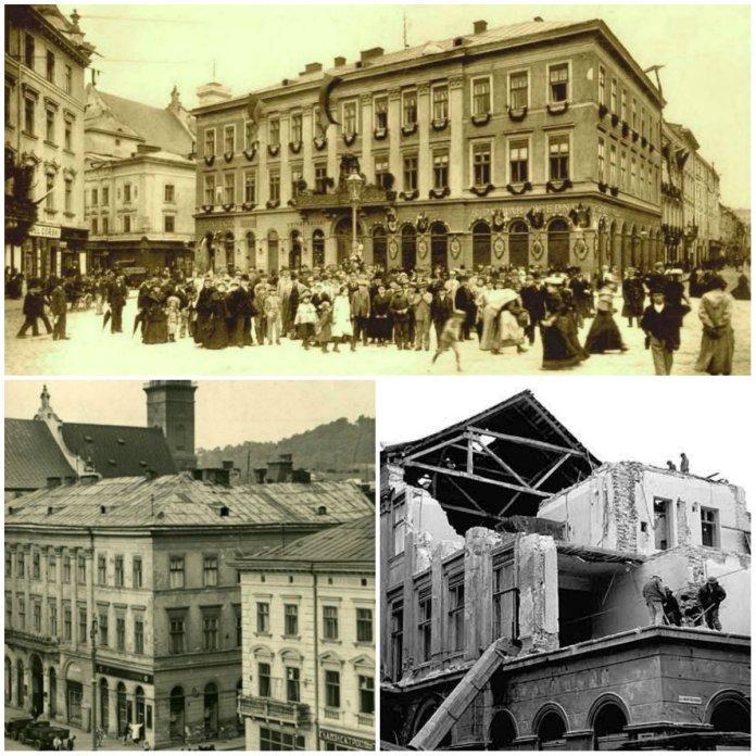 Будинок на площі Марійській, 9, або споруда, що повстала на львівських мурах