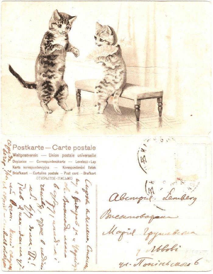 Лист Михайла Грушевського до Марії Грушевської. Київ, 07.11.1907