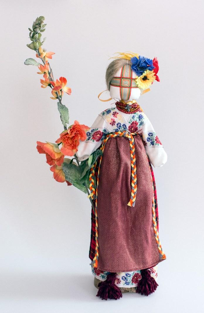 """Лялька """"Катруся Грушевська"""". Авторська робота майстрині Лесі Скрипки."""