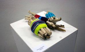 Експозиція виставки «Міні-текстиль» у Львові, 2015 рік