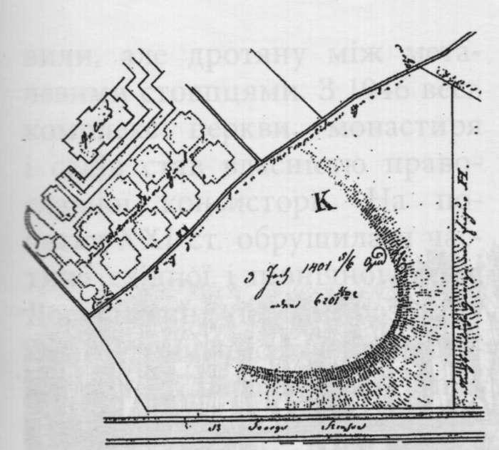 План регуляції садів. 1828 рік