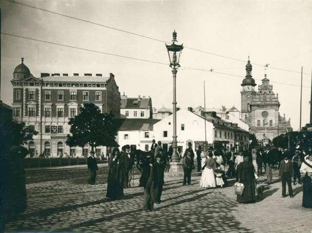Площа Галицька у 1894 році