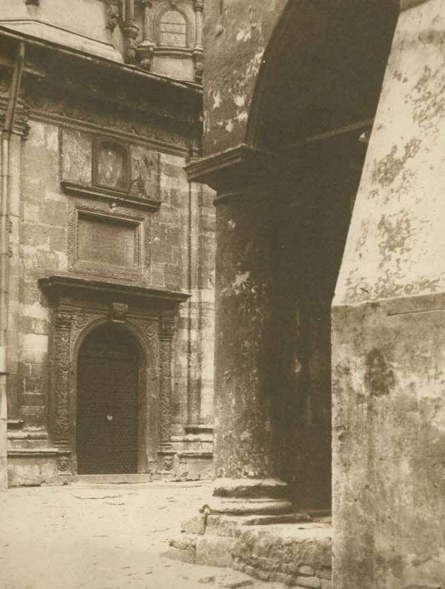 Давня каплиця на фото 1934 року