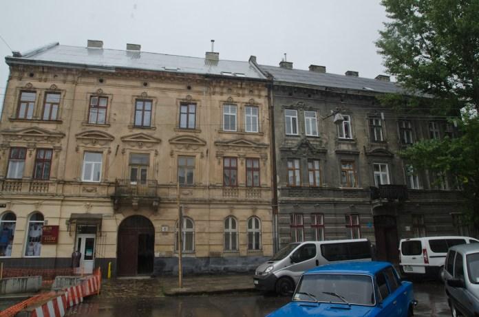 Будинок на вул. Б.Хмельницького.