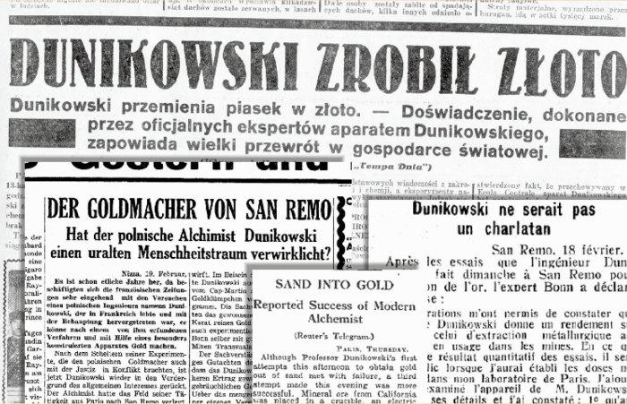 Якщо вірити тогочасним газетам, світ мав би чекати прориву в економіці.