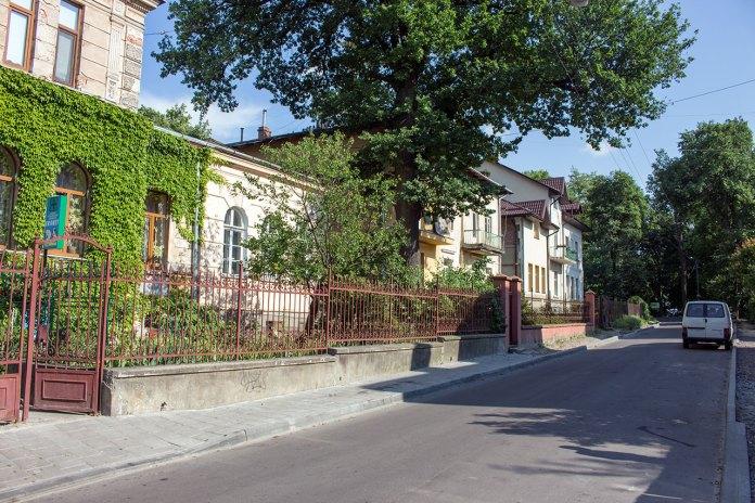 Вулиця Барівнських у Львові