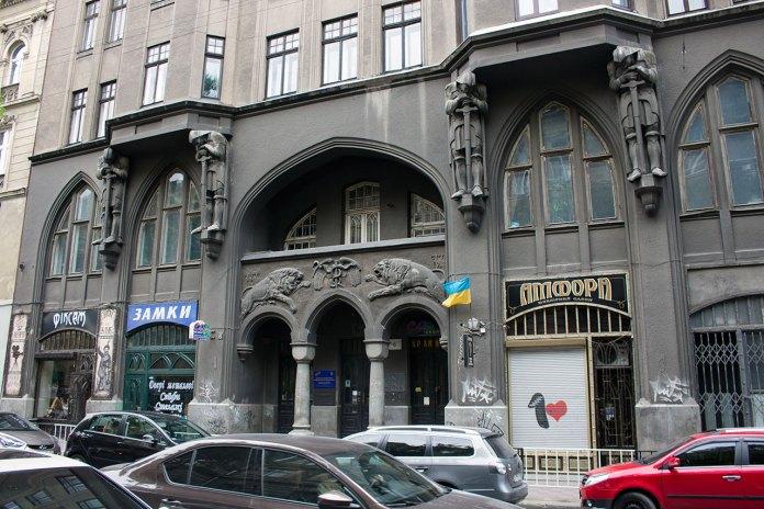 Будинок №6 на вулиці Князя Романа, в якому розташоване обласне радіо