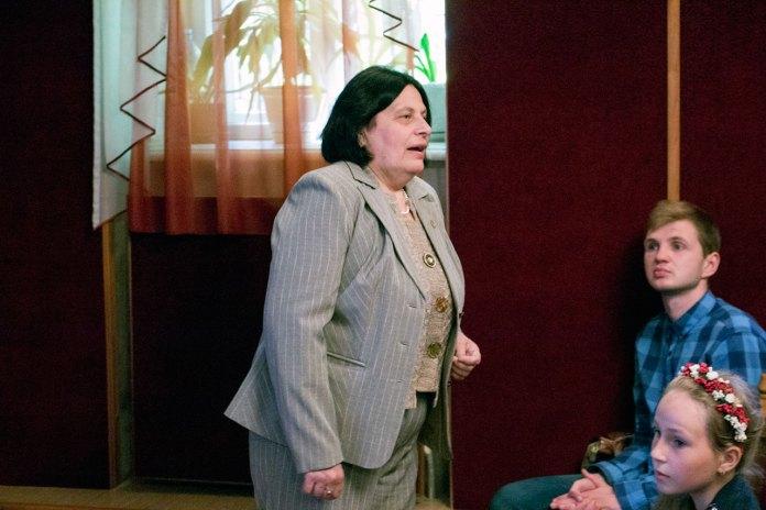 Директор меморіального музею Михайла Грушевського у Львові, заслужений працівник культури Марія Карпівна Магунь.