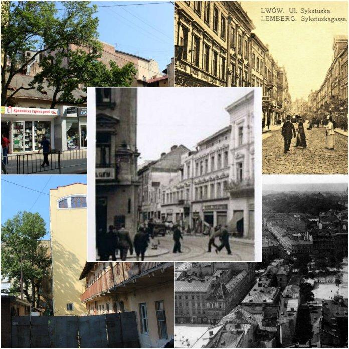 Декілька львівських будинків, які забрала війна