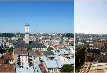 Панорама Львові з вежі Корнякта, або чому туди не пускають туристів