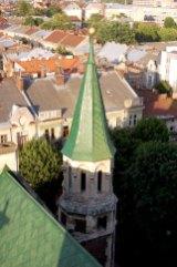 Панорама Львова з оглядового майданчика храму Свв.Ольги і Єлизавети