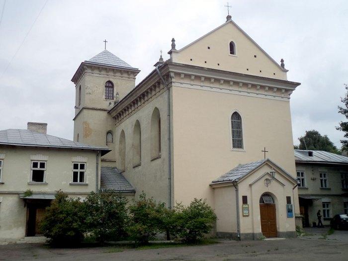 Костел св. Лазаря. Управителем шпиталю при цьому костелі був Захар Авдиковський - рідний дядько Шашкевича, у якого той мешкав