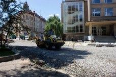 Реконструкція скверу Святого Юра у Львові