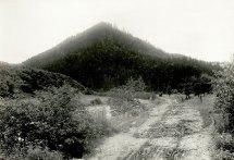 Вид на східний схил г. Маківки – місце оборони легіону УСС.