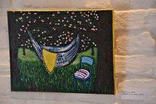 Експозиція виставки «Маленька ідилія» художниці Наталії Бартків.