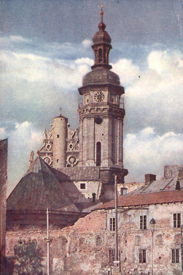 Годинник на Бернандиському костелі