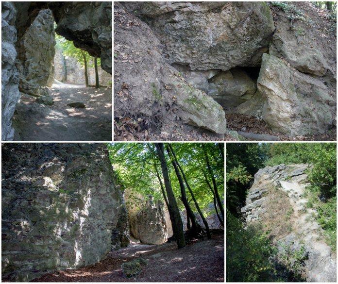 Залишки прадавнього замку, або три легенди про Чортові скелі