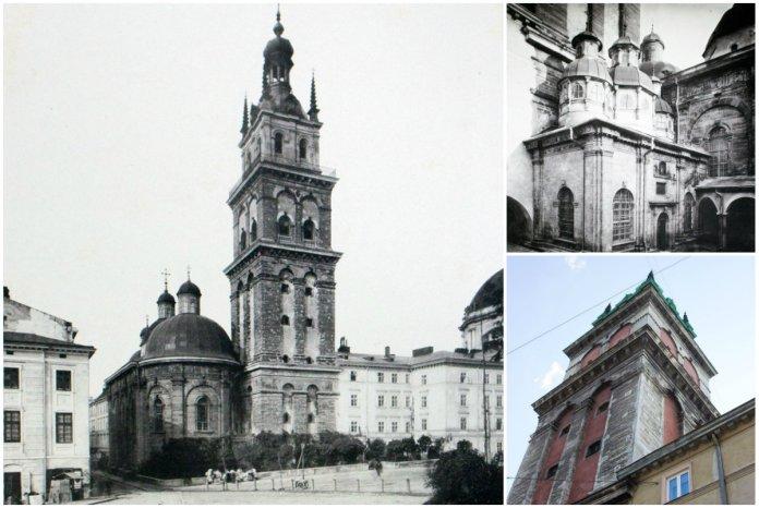 Храмовий комплекс Успенської церкви в серці середньовічного Львова