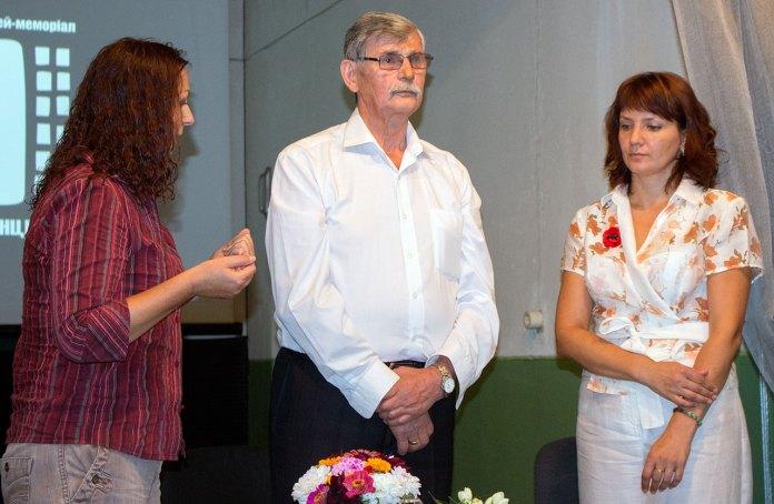 Зустріч з Михайлом Косівим, присвячена пам'яті українських дисидентів, 30 серпня 2015 року