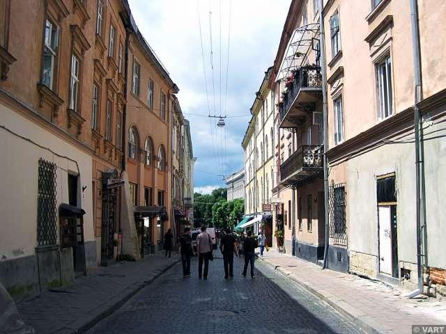 Вулиця Краківська, сучасне фото