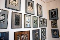Експозиція художньо-меморіального музею Олени Кульчицької у Львові