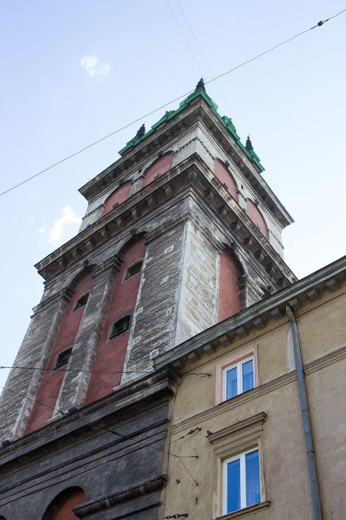 Вежа Корнякта комплексу Успенської церкви у Львові