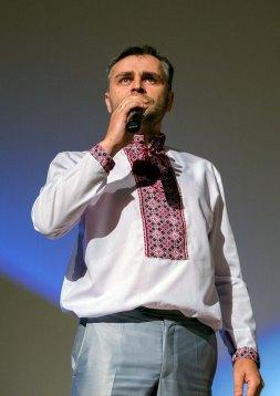 Володимир Кудовба на вечорі пам'яті Юрія Вербицького