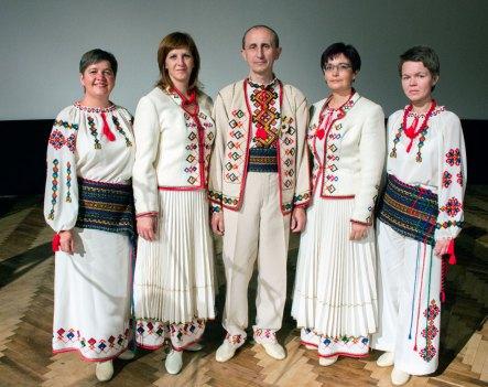 Народний вокальний ансамбль «Гердан» на вечорі пам'яті Юрія Вербицького