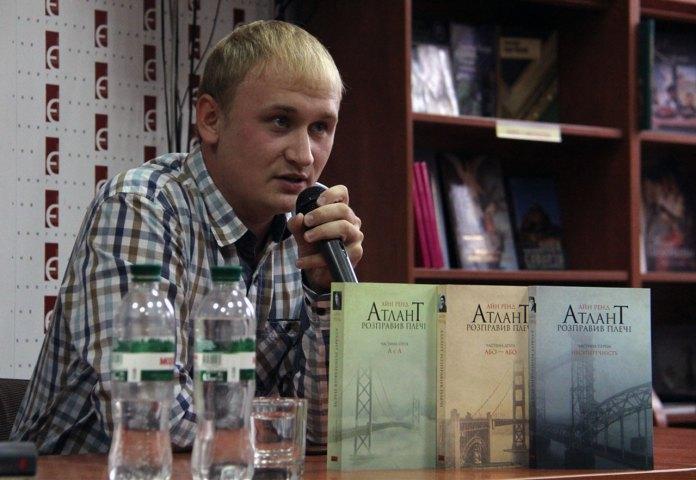 Директор видавництва «Наш формат» Антон Мартинов