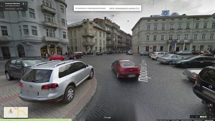 На проспекті Шевченка ще немає кільця